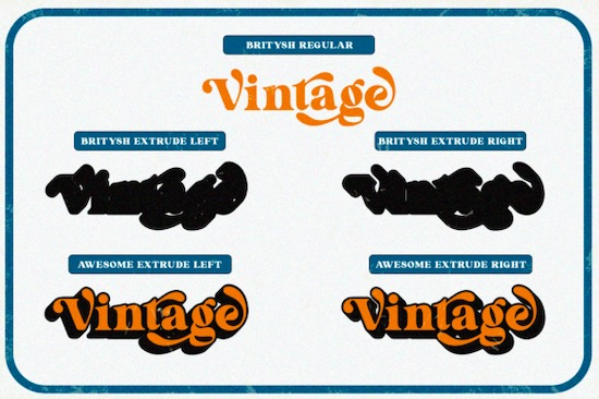 Britysh font free