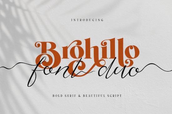 Brohillo font free download