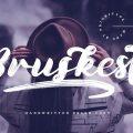 Bruskest Font free download