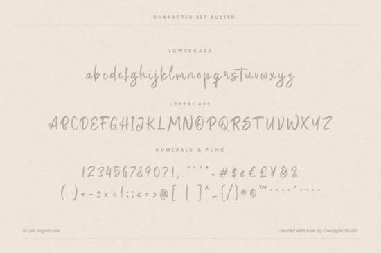 Buster font download