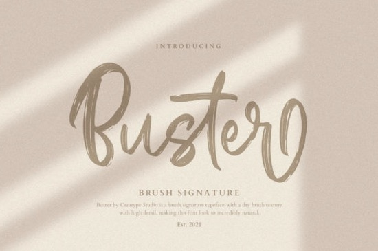 Buster font free download
