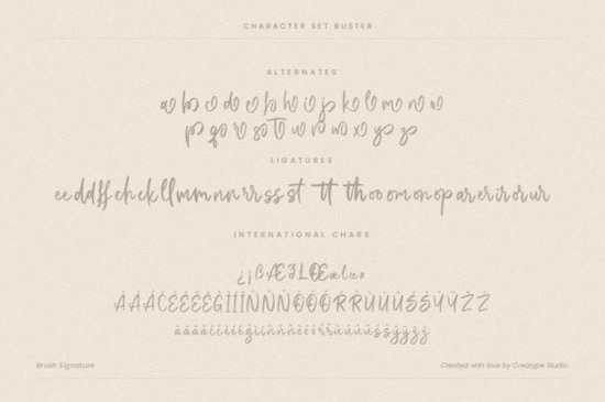 Buster font free