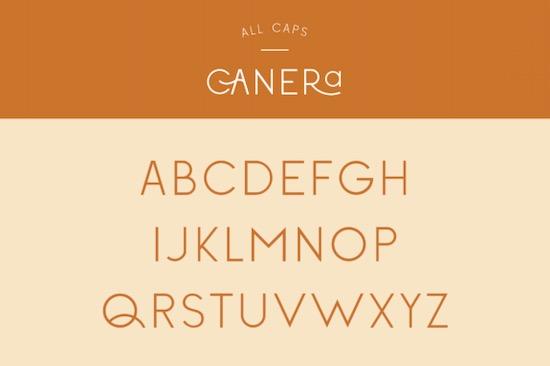 Canera font free