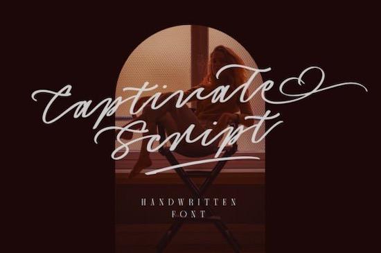 Captivate Script font download free