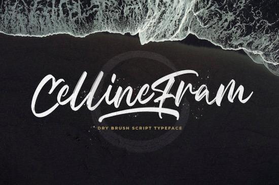 Celline Fram font free download