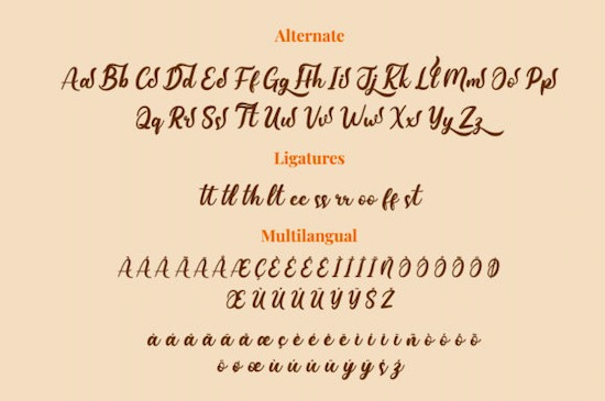 Coffistylove font free