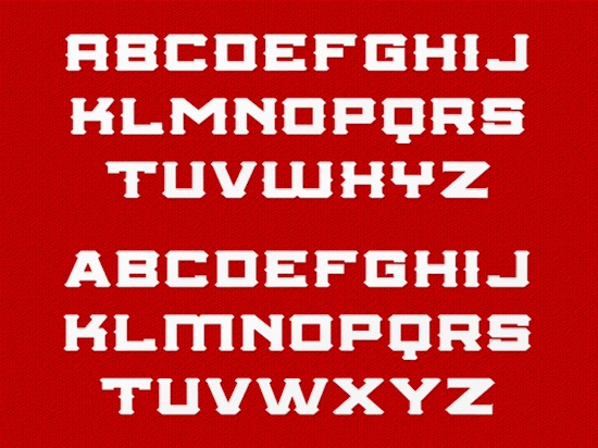 College Championship font free download