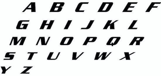 Danganronpa font free