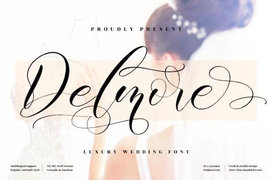 Delmore font free download