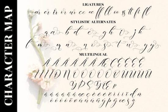 Delmore font free