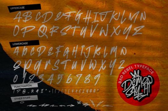 Demon Say Hi font download