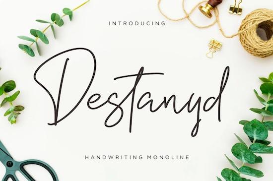 Destanyd font free download