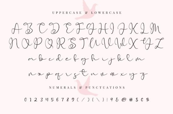 Early Morning Birds font download