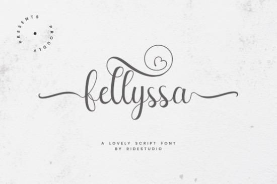 Fellyssa Font free download