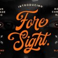 Foresight font free download