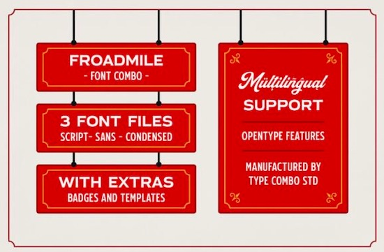 Froadmile font download