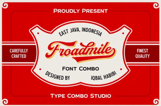 Froadmile font free download