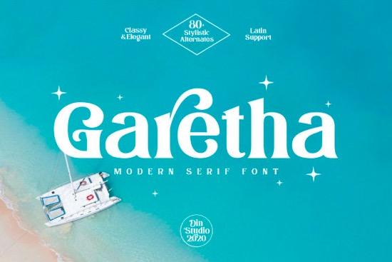 Garethan font download