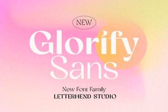 Glorify Sans font free download