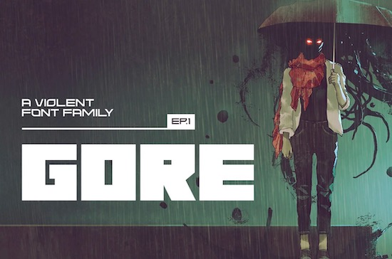 Gore font free download