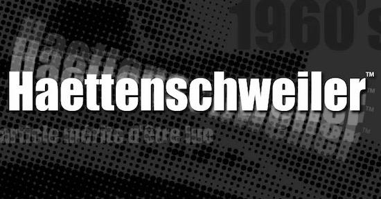 Haettenschweiler font