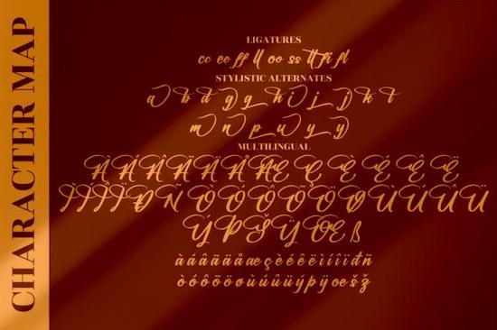 Halittany Badela font download