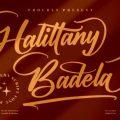 Halittany Badela font free download