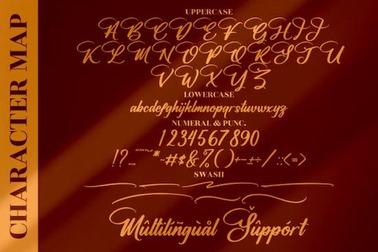 Halittany Badela font free