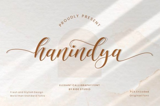Hanindya font free download