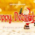 Happy December font free download