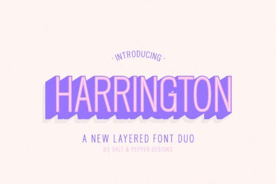 Harrington Sans Serif font free download