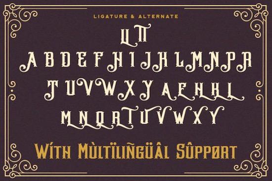 Hellios Gothic font free