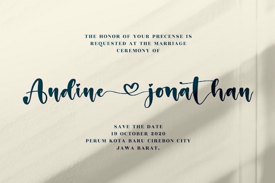 Holiday Calligraphy Font free download