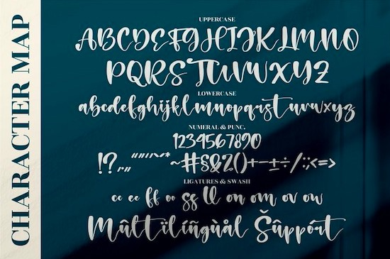 Holiday Calligraphy Font free