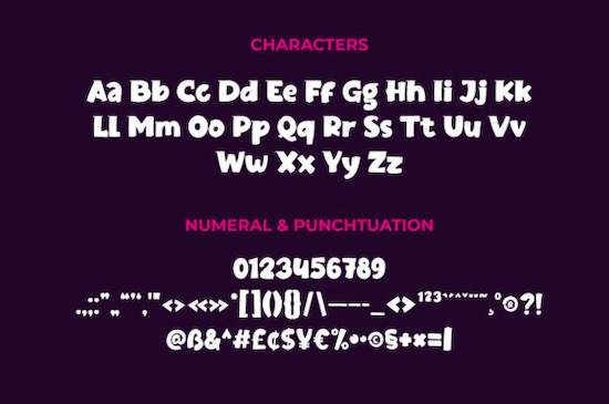 Jaxell font download