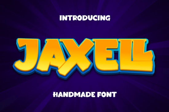 Jaxell font free download