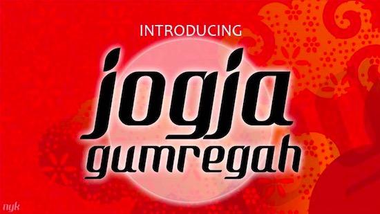 Jogjakartype font free download