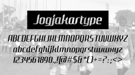 Jogjakartype font free