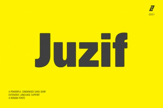 Juzif font free download