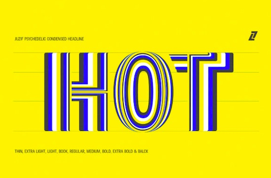 Juzif font free