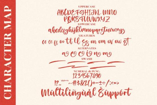 Kissing Love font download