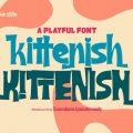 Kittenish Playful font