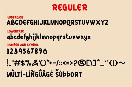 Kittsy Display font free