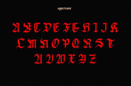 Mata Pisau font download