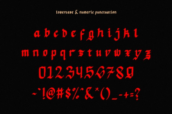 Mata Pisau font free