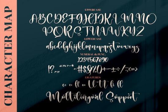 Melantic Beauty Font download