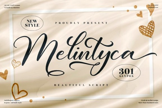 Melintyca Font free download