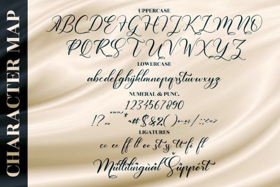 Melintyca Font free