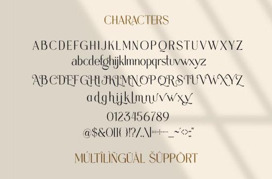 Melorist font download