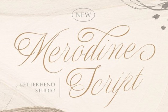 Merodine font free download